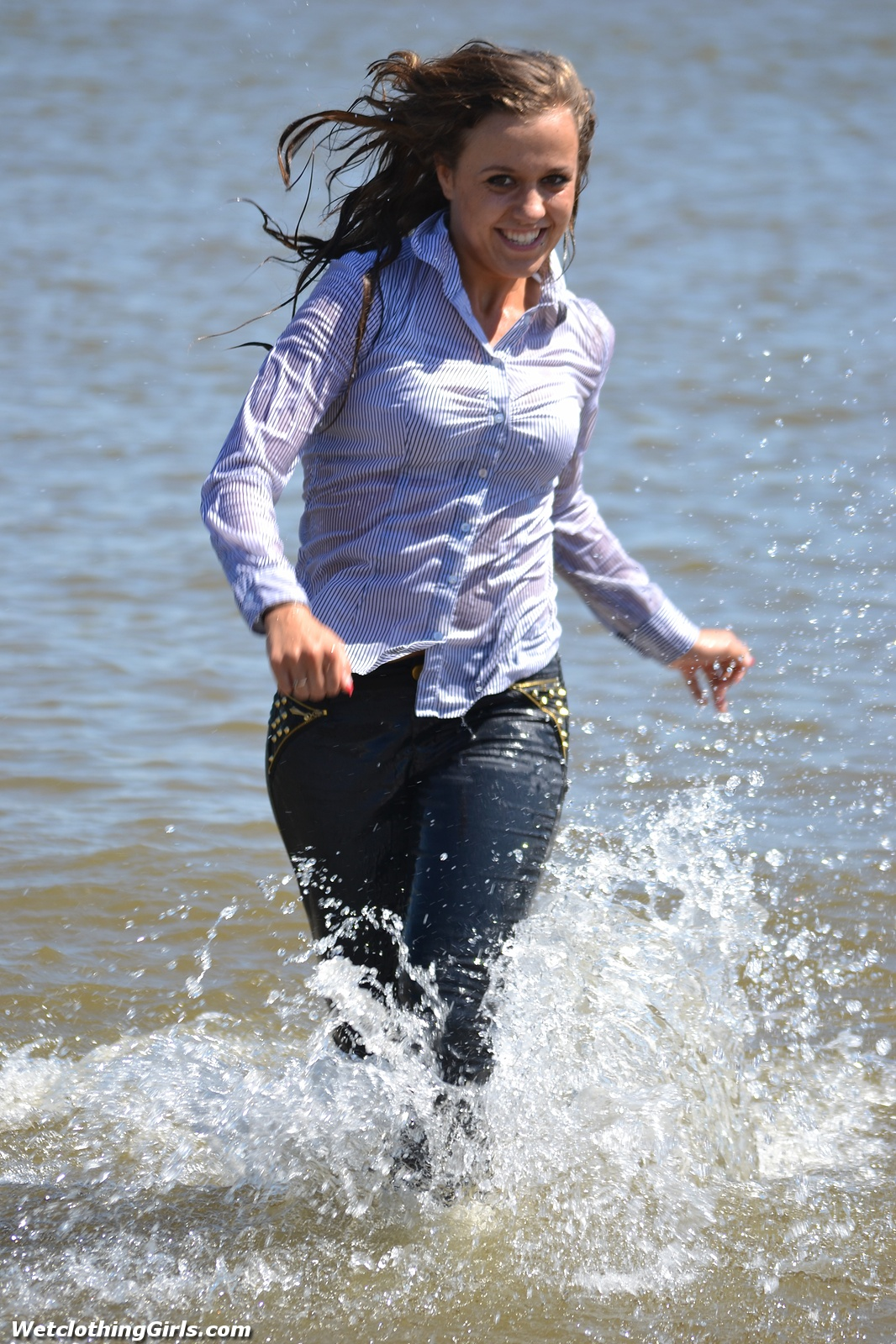 She Is A Natural In The Water And Wetlook Becomes Her Very